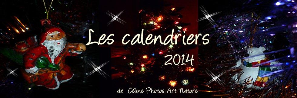 Bannière des calendriers 2014 de Céline Photos Art Nature