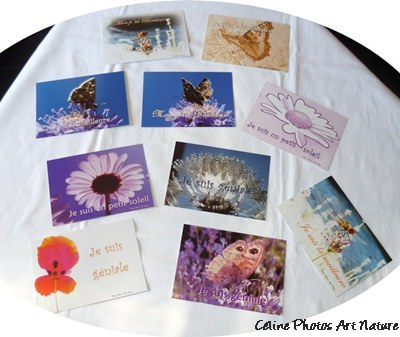Cartes postales positives de Céline Photos Art Nature