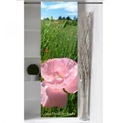 Panneau japonais Coquelicot  rose de Céline Photos Art Nature