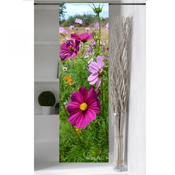 panneau japonais jardin fleuri boutique. Black Bedroom Furniture Sets. Home Design Ideas