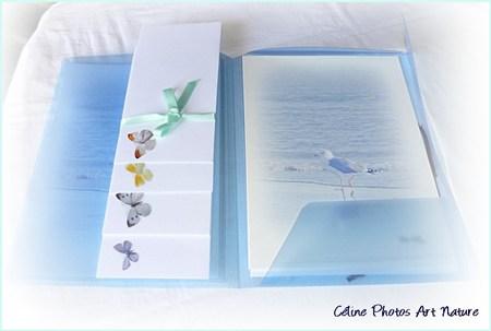Papier à lettres bord de mer de Céline Photos Art Nature